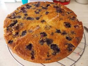 Gâteau moelleux aux myrtilles DSCN9504