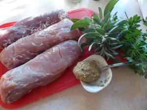 Filet mignon moutarde et herbes DSCN9989