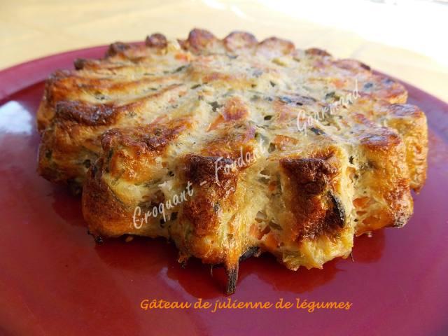 Gâteau de julienne de légumes DSCN0721