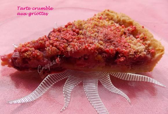 Tarte crumble aux griottes DSCN0458