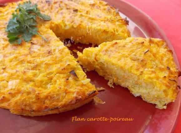 Flan carotte-poireau DSCN0991