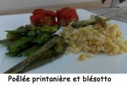 Poêlée printanière et blésotto Index DSCN4605