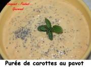 Purée de carottes au pavot Index - DSC_0167_8161