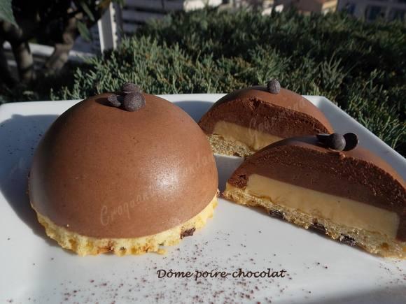 Dôme poire-chocolat DSCN1431