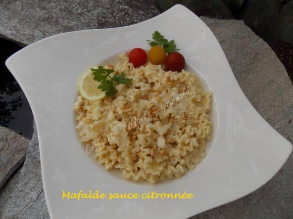 Mafalde sauce citronnée DSCN6131