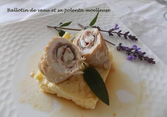 Ballotin de veau et sa polenta moelleuse DSCN3371