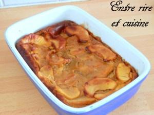 Clafoutis pommes-spéculoos à vous de jouer entre rire et cuisine ob_723e2a_p3280054