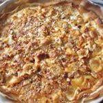 Pizza blanche aux ravioles à vous de jouer Huguette Renard 10299131_529285780573706_2131822320797115321_n