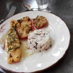 Pavé de saumon mariné au basilic La cuisine de Cécile IMG_20160511_125542_BURST001_COVER
