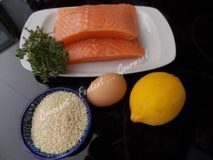 Croustillant de saumon au sésame DSCN4834