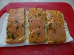 Croustillant de saumon au sésame DSCN4844