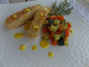 Croustillant de saumon au sésame DSCN4861