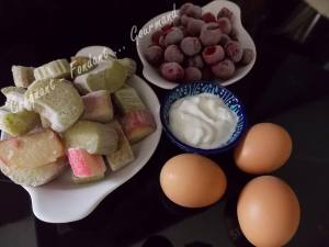 Crumb cake rhubarbe-griottes DSCN5925