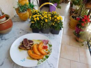 Filets de canard et melon épicés à vous de jouer Francis
