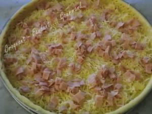 Tarte soufflée mozzarella-mortadelle DSCN5834