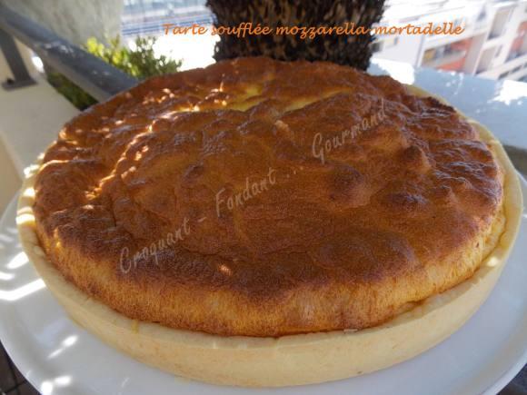 Tarte soufflée mozzarella-mortadelle DSCN5840