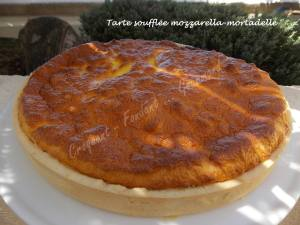 Tarte soufflée mozzarella-mortadelle DSCN5841