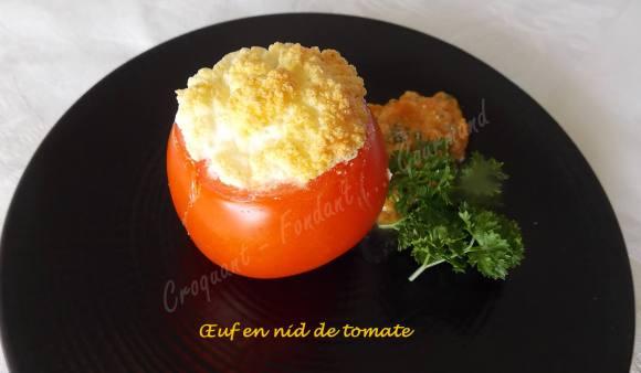 Œuf en nid de tomate DSCN0325