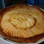 Tarte aux pommes à vous de jouer ma Lolo -P1100740