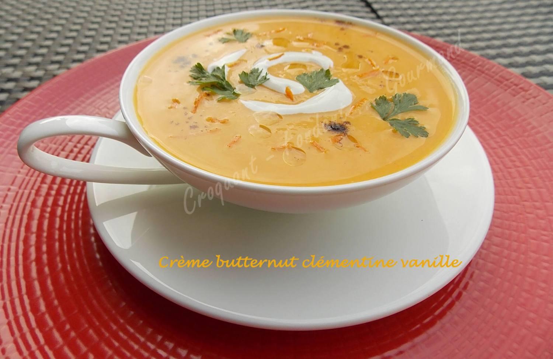 Crème butternut clémentine vanille DSCN2230