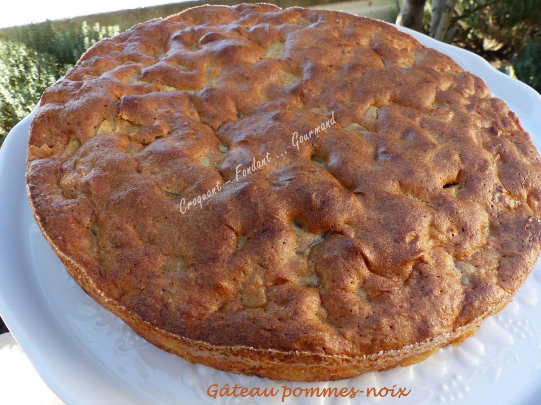 Gâteau pommes-noix P1000188