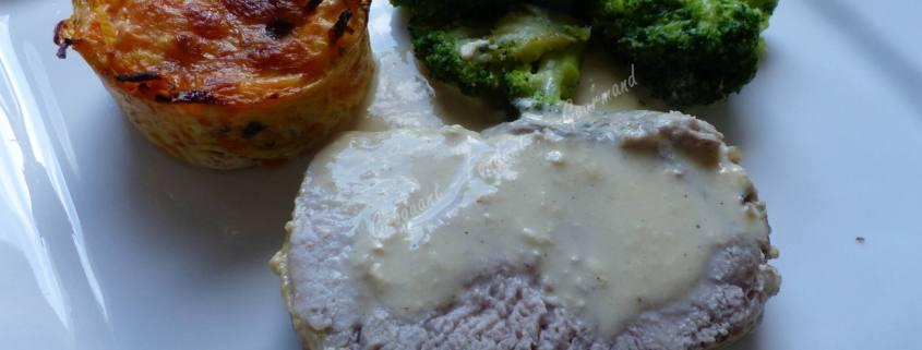 Rôti de veau mariné à la crème P1000694