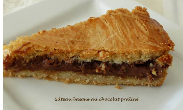 Gateau Basque Au Chocolat Praline Croquant Fondant Gourmand