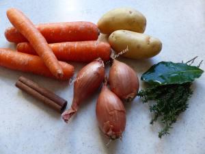 Soupe de carottes à la cannelle P1010598