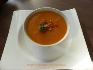 Soupe de carottes à la cannelle P1010641