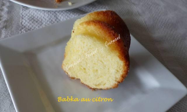 Babka au citron P1020431