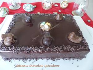 Gâteau de Pâques chocolat-spéculoos P1020968
