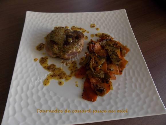 Tournedos de canard sauce au miel DSCN4318