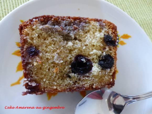 Cake aux cerises amarena P1030593