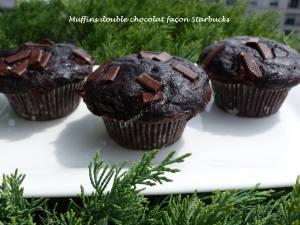 Muffins double chocolat façon Starbucks P1030918