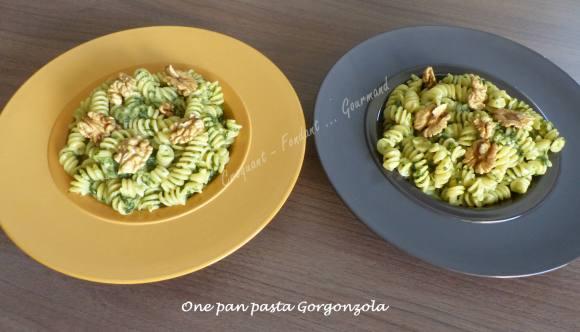 One pan pasta Gorgonzola P1030566