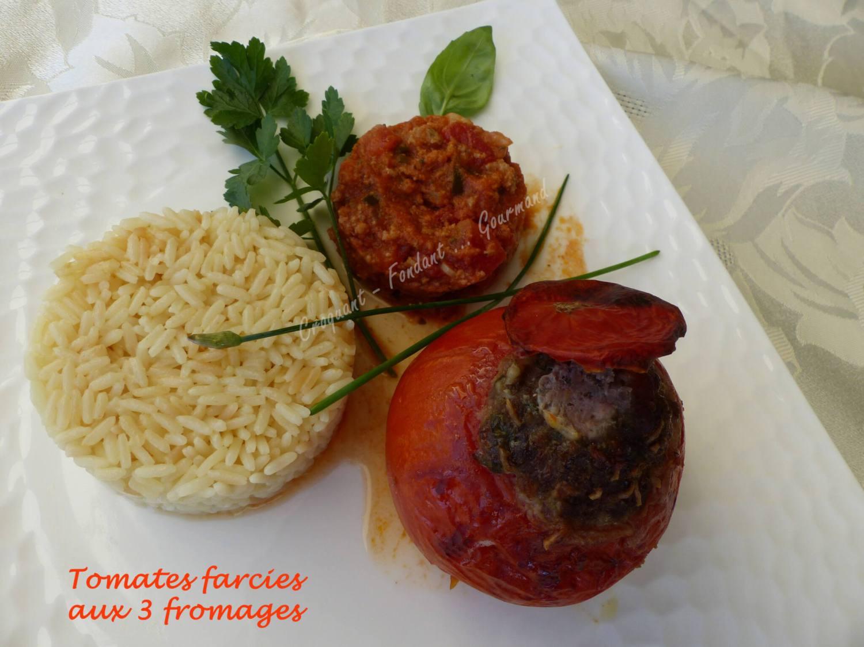 Tomates farcies aux 3 fromages P1030966