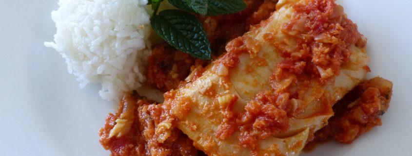 Curry de cabillaud à la menthe P1030522