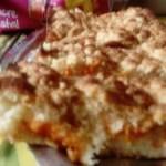 Crumb cake à l'abricot à vous de jouer Huguette Derieux mms_img607131148