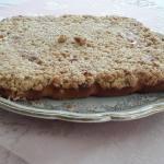 Crumb cake à l'abricot à vous de jouer Yolande Debra 20170722_144630