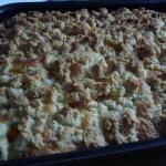 Crumb cake à l'abricot à vous de jouer petites gourmandises 116901739