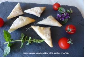 Samoussas sardinettes et tomates confites P1040289
