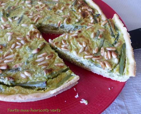 Tarte aux haricots verts P1040471