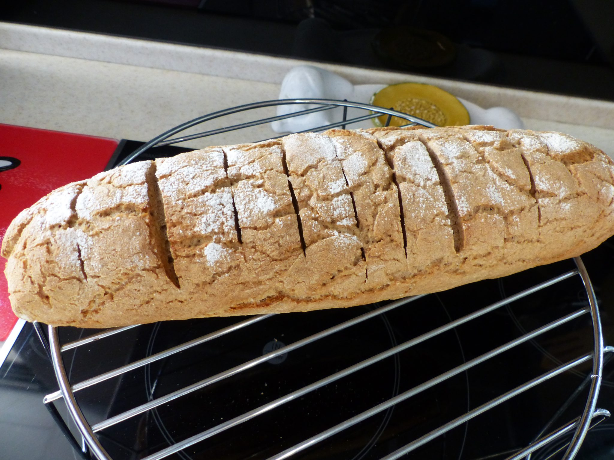 Pain de seigle thermomix