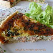 Quiche saumon-épinards Retouche P10506