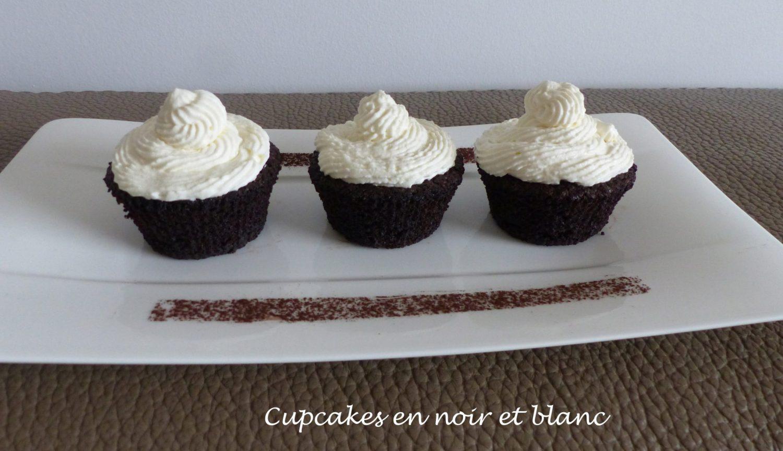 Cupcakes en noir et blanc P1060150 R