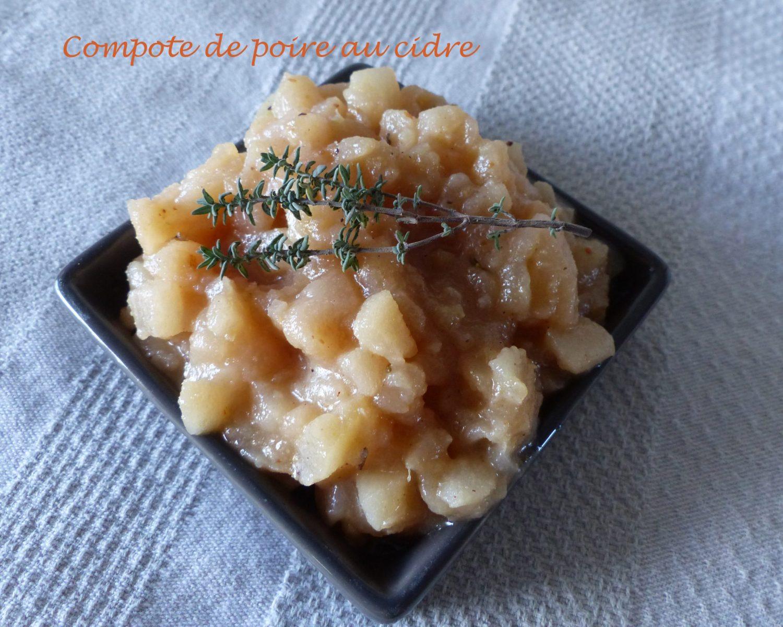 Compote de poire au cidre P1070289 R