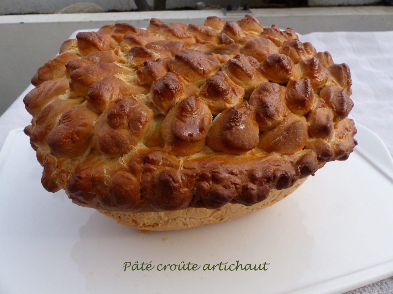 Pâté croûte artichaut P1070358 R