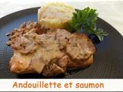 Andouillette et saumon Index DSCN1019