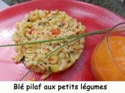 Blé pilaf aux petits légumes Index DSCN9283