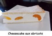 Cheesecake aux abricots Index DSCN7411